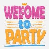 Benvenuto da fare festa