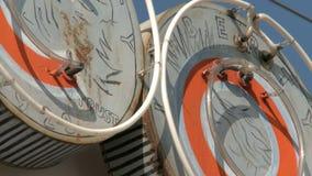 Benvenuto del segno a Las Vegas video d archivio