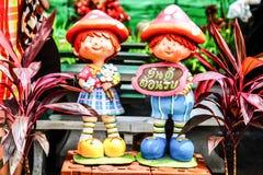 Benvenuto delle bambole Fotografie Stock Libere da Diritti