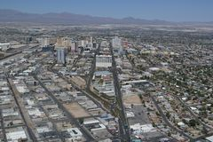 Benvenuto a Fabulos Las Vegas fotografie stock libere da diritti
