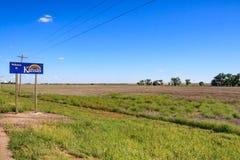 Benvenuto a Kansas Fotografie Stock Libere da Diritti
