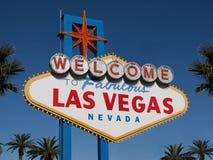 Benvenuto a Las Vegas Immagini Stock