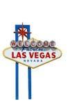 Benvenuto a Las Vegas Immagine Stock