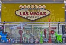 Benvenuto a Las Vegas di FatBurger Fotografia Stock Libera da Diritti