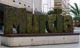 Benvenuto a Murcia immagine stock libera da diritti
