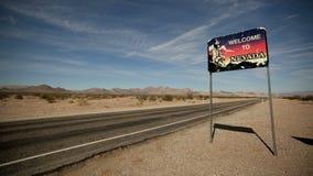 Benvenuto nel Nevada video d archivio