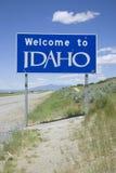 Benvenuto nell'Idaho   Immagini Stock