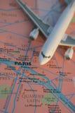 Benvenuto a Parigi Fotografie Stock