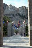 Benvenuto per montare Rushmore, il Dakota del Sud Immagine Stock Libera da Diritti