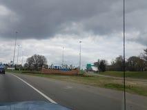 Benvenuto a Richmond naturale! fotografie stock