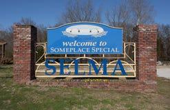 Benvenuto a Selma Alabama Immagine Stock