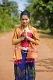 Benvenuto in Tailandia Fotografie Stock