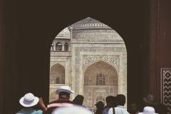 Benvenuto in Taj Mahal Fotografia Stock Libera da Diritti