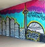 Benvenuto a Toronto Fotografie Stock Libere da Diritti