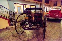 1886 Benz δίπλωμα ευρεσιτεχνίας Motorwagen Στοκ φωτογραφίες με δικαίωμα ελεύθερης χρήσης