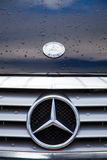 benz 14$ου 16$ου το 2011 ο 25$ος δρόμος s Σεπτέμβριος μηχανών της Mercedes λογότυπων της Κίνας chengdu εμφανίζει στη δύση Στοκ φωτογραφία με δικαίωμα ελεύθερης χρήσης