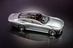 Benz της Mercedes έννοια IAA στο IAA 2015 στοκ φωτογραφία