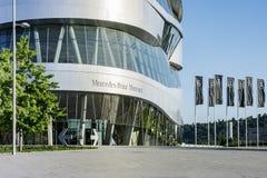 Benz της Mercedes εξωτερικό μουσείων Στοκ Φωτογραφία