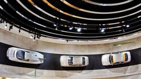 Benz της Mercedes μουσείο Deutschland Stuttgard στοκ φωτογραφία με δικαίωμα ελεύθερης χρήσης