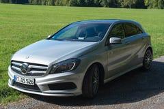 Benz της Mercedes τεστ δοκιμής α-κλάσης Στοκ Φωτογραφία