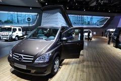 Benz της Mercedes τροχόσπιτο Viano Στοκ εικόνες με δικαίωμα ελεύθερης χρήσης