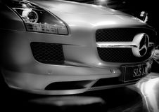 Benz της Mercedes. στοκ φωτογραφία με δικαίωμα ελεύθερης χρήσης
