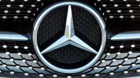 Benz της Mercedes Στοκ εικόνες με δικαίωμα ελεύθερης χρήσης