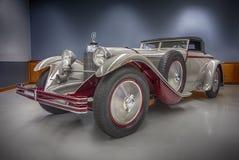 Benz 1928 της Mercedes 680S αυτοκίνητο τορπιλών Saoutchik Στοκ φωτογραφία με δικαίωμα ελεύθερης χρήσης
