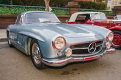 Benz 1954 de Mercedes 300SL Gullwing Fotografia de Stock