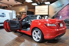 Benz 2012 de Mercedes SLK Fotografia de Stock Royalty Free