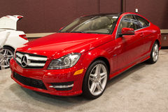 Benz 2012 di Mercedes C250 Immagine Stock