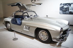Benz 300SL Gullwing de Mercedes Photos libres de droits