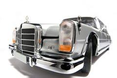 Benz 600 van Mercedes het stuk speelgoed van de metaalschaal auto fisheye stock foto