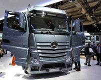 Benz Actros 2651 LS Мерседес Стоковая Фотография RF