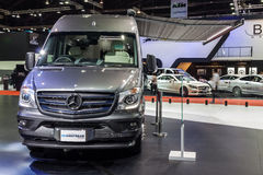 Benz Airstream Interstate Ext Stock Image