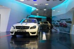 Benz AMG της Mercedes αυτοκίνητα για την πώληση Στοκ φωτογραφίες με δικαίωμα ελεύθερης χρήσης