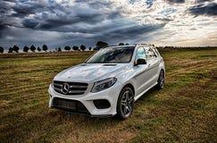 Benz AMG GLE 43 V6 Biturbo 2017 της Mercedes Στοκ φωτογραφίες με δικαίωμα ελεύθερης χρήσης