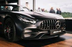 Benz AMG GT 50 Biturvo V8 Мерседес Стоковое Фото