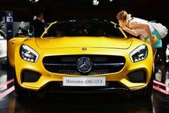 Benz AMG GT S της Mercedes στοκ εικόνα με δικαίωμα ελεύθερης χρήσης