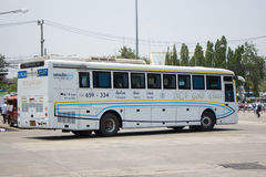 Benz Bus of Nakhonchai air. Route Chiangmai Pattaya and Rayong. Stock Image