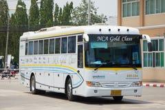 Benz Bus of Nakhonchai air. Route Chiangmai Pattaya and Rayong. Stock Photo