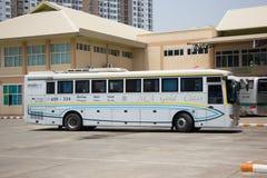 Benz Bus of Nakhonchai air. Route Chiangmai Pattaya and Rayong. Stock Images