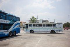 Benz Bus of Nakhonchai air. Route Chiangmai Pattaya and Rayong. Royalty Free Stock Image