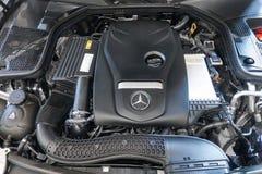 Benz C350e Мерседес стоковая фотография
