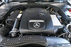 Benz C350e Мерседес стоковое фото