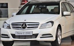 Benz C200 de Mercedes Imagen de archivo libre de regalías