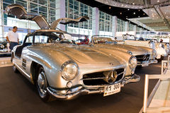 Benz clásico 300SL de Mercedes del coche Foto de archivo
