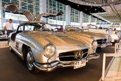 Benz classico 300SL di Mercedes dell'automobile Fotografia Stock