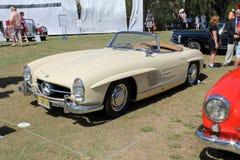 Benz classico di Mercedes sportscar Fotografia Stock