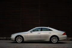 Benz CLS de Mercedes Imágenes de archivo libres de regalías
